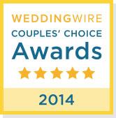 WeddingWire Couples Choice Award 2013